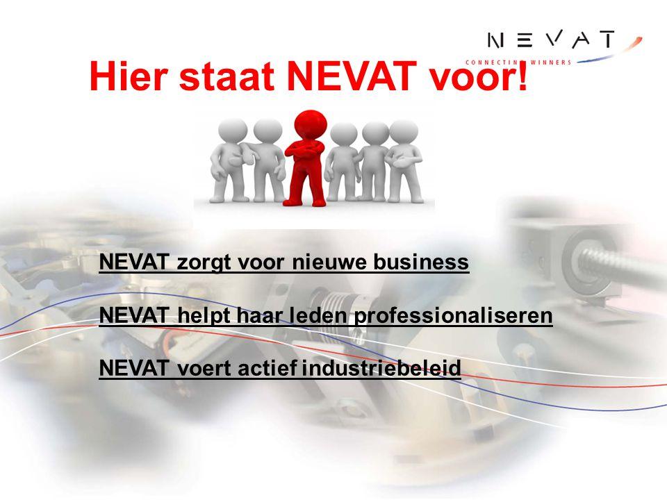 Hier staat NEVAT voor! NEVAT zorgt voor nieuwe business