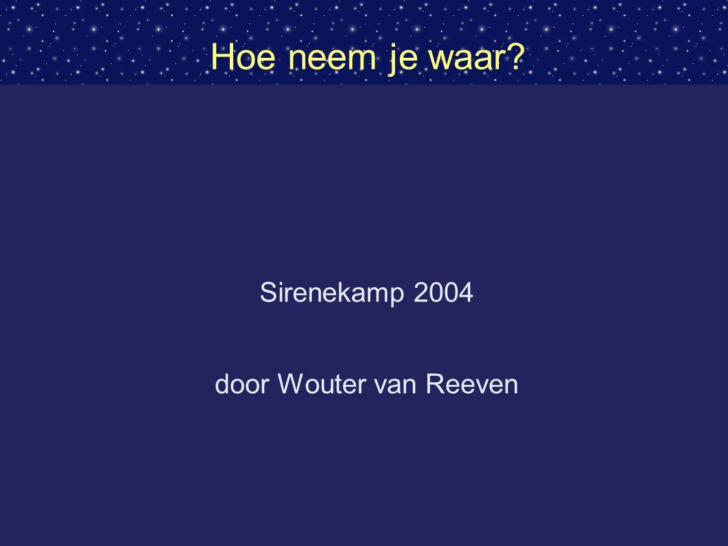 Sirenekamp 2004 door Wouter van Reeven