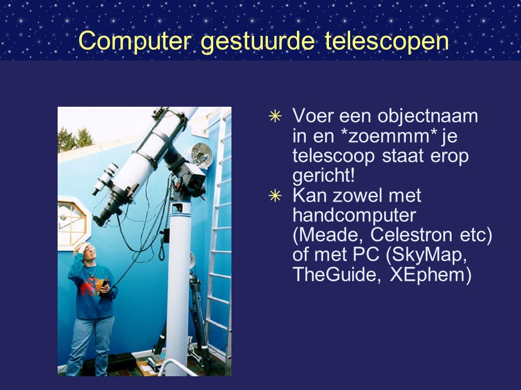 Computer gestuurde telescopen