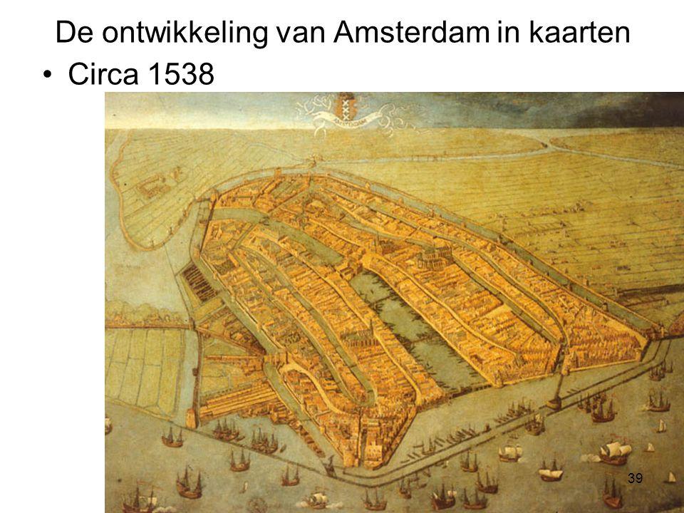 De ontwikkeling van Amsterdam in kaarten
