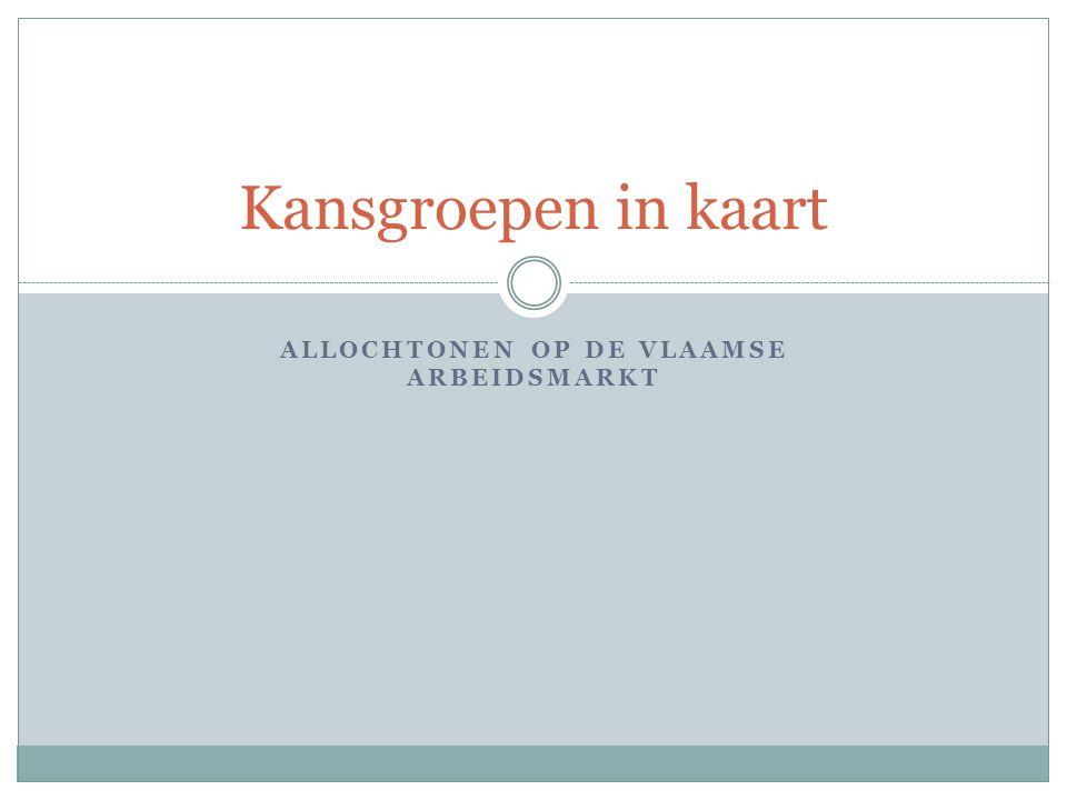 Allochtonen op de Vlaamse arbeidsmarkt