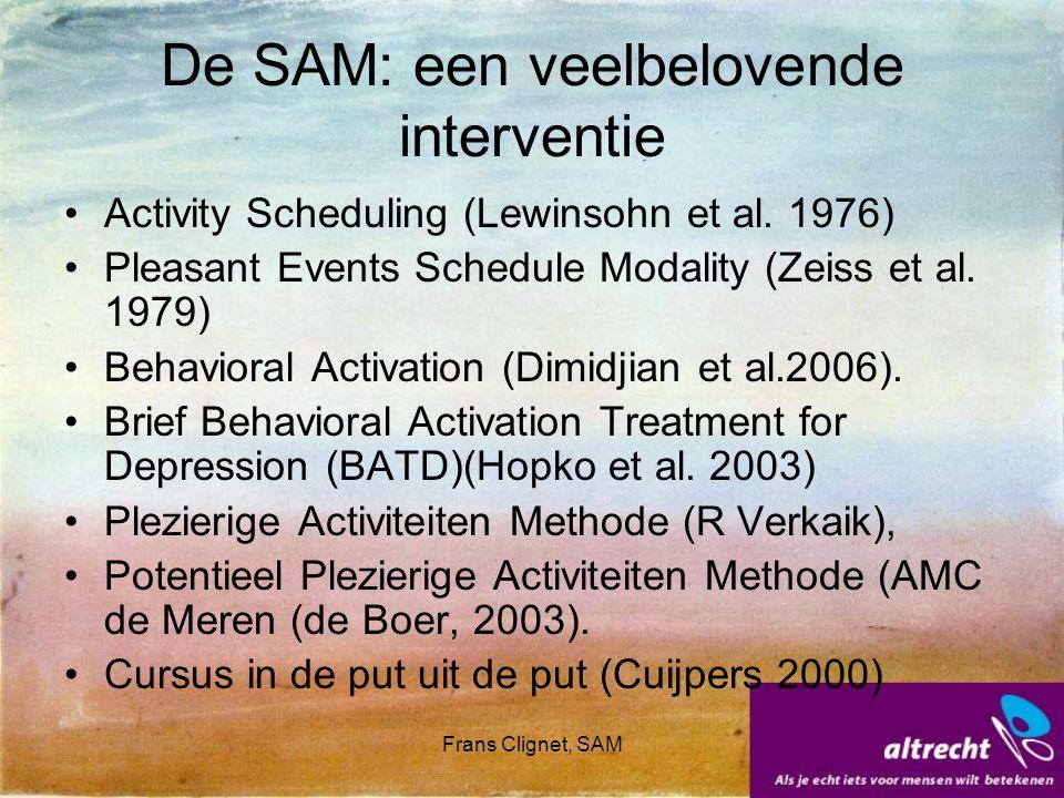De SAM: een veelbelovende interventie