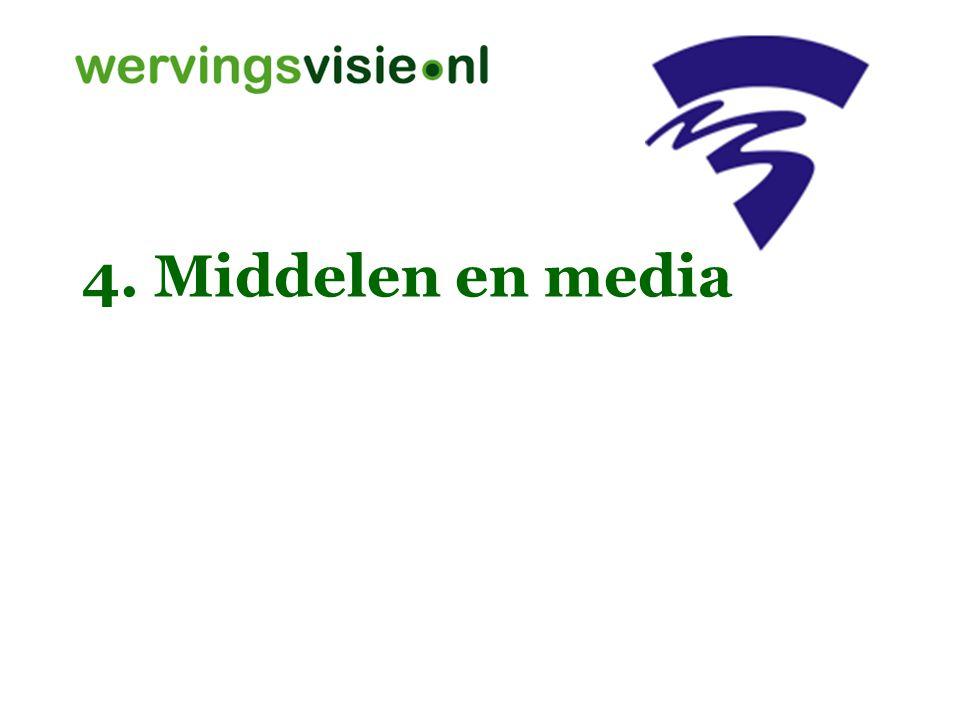 4. Middelen en media