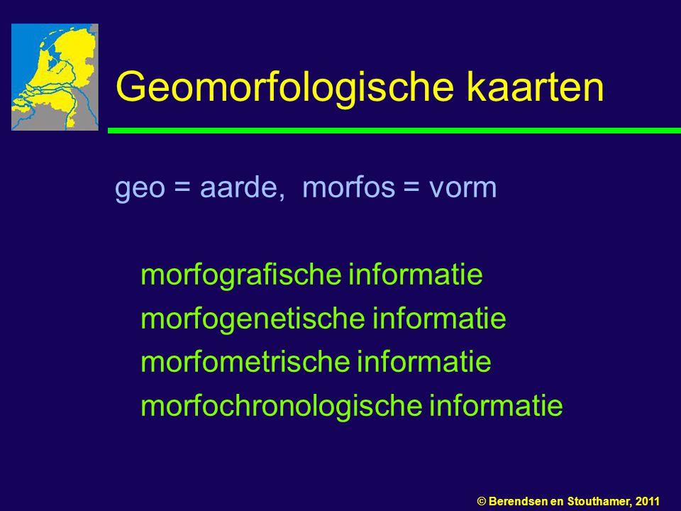 Geomorfologische kaarten