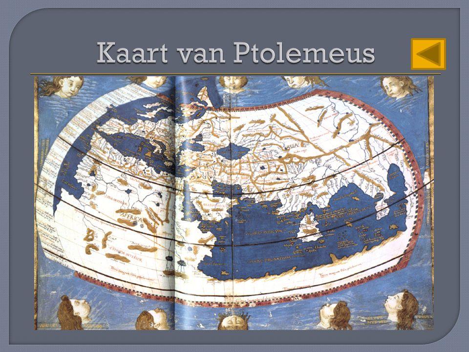 Kaart van Ptolemeus