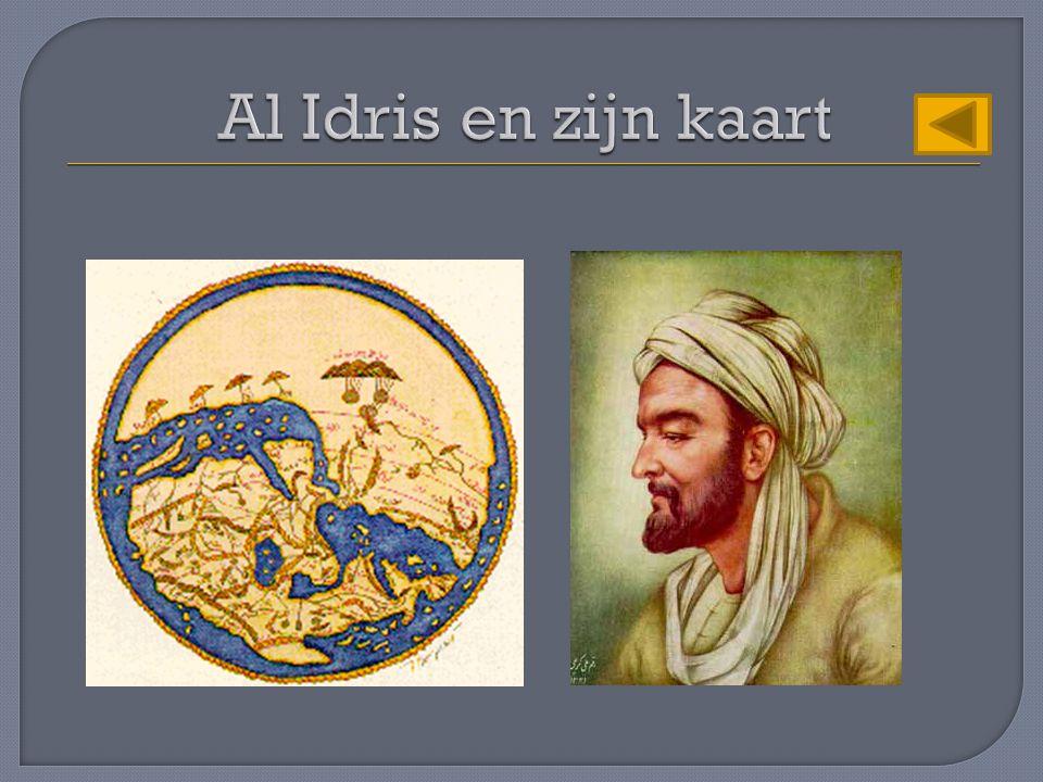 Al Idris en zijn kaart