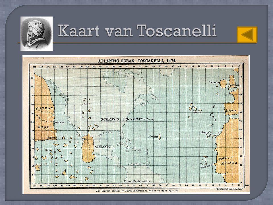Kaart van Toscanelli
