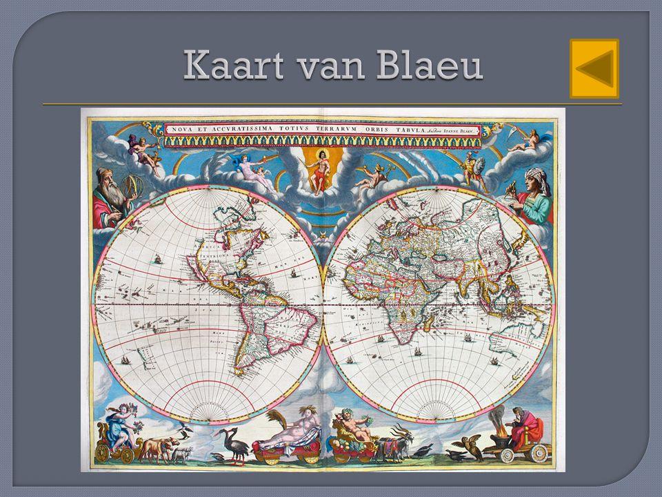 Kaart van Blaeu