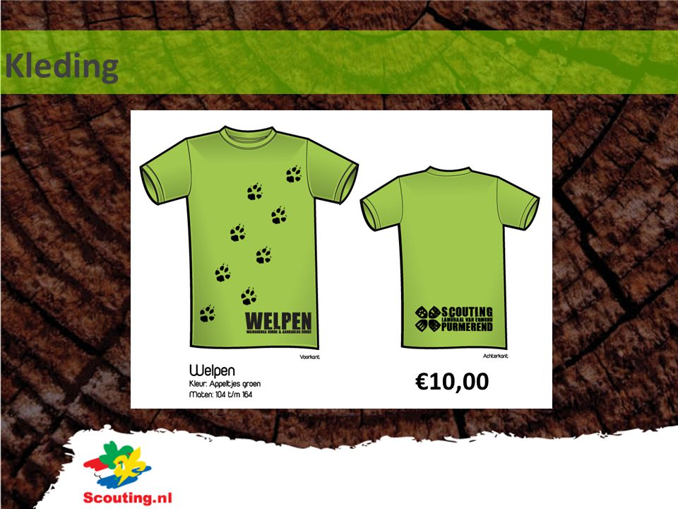 Kleding €10,00