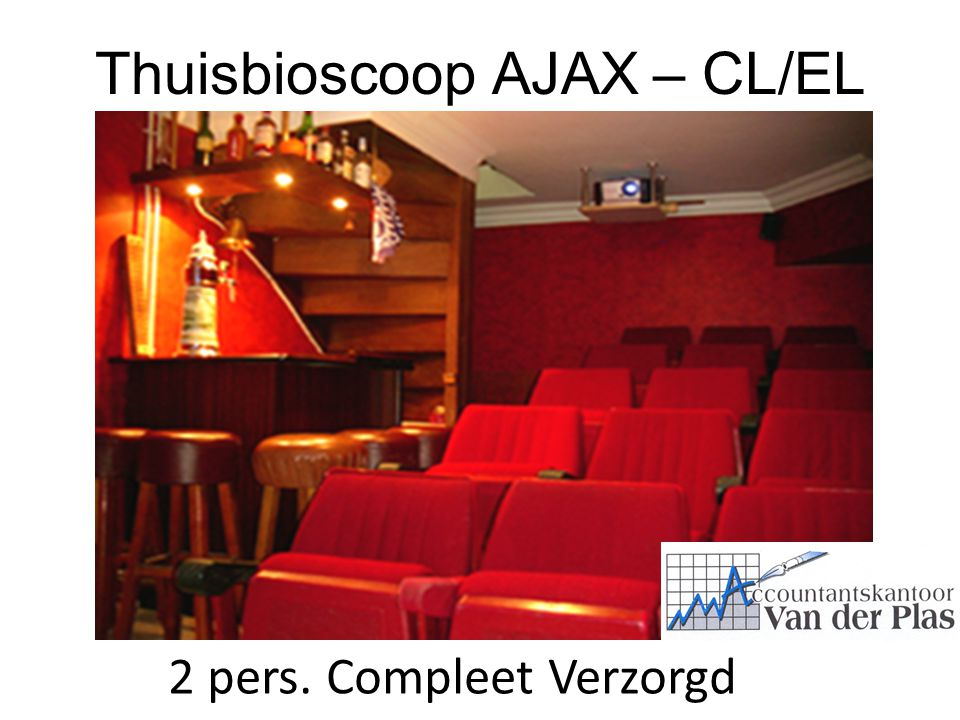 Thuisbioscoop AJAX – CL/EL