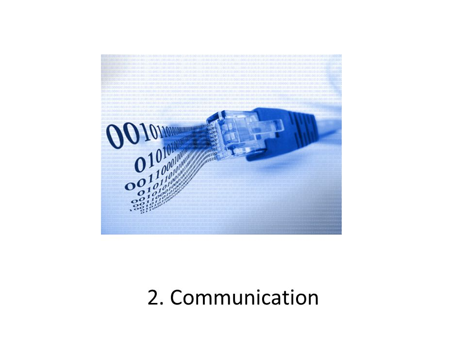 2. Communication