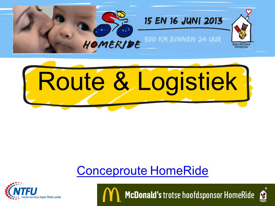 Route & Logistiek Conceproute HomeRide
