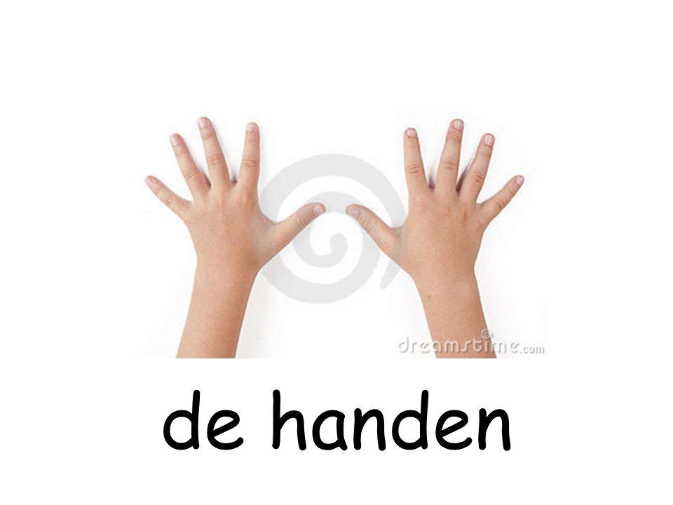de handen