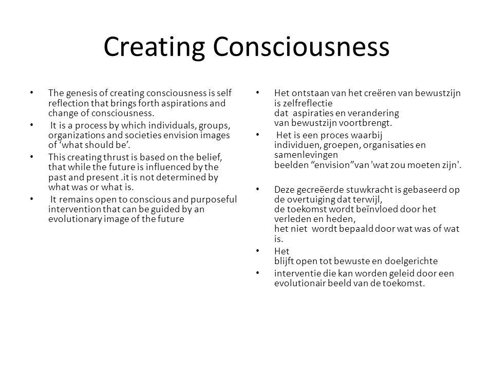 Creating Consciousness