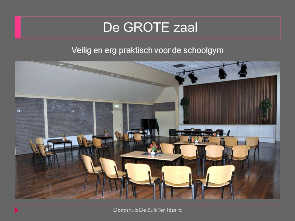 De GROTE zaal Veilig en erg praktisch voor de schoolgym