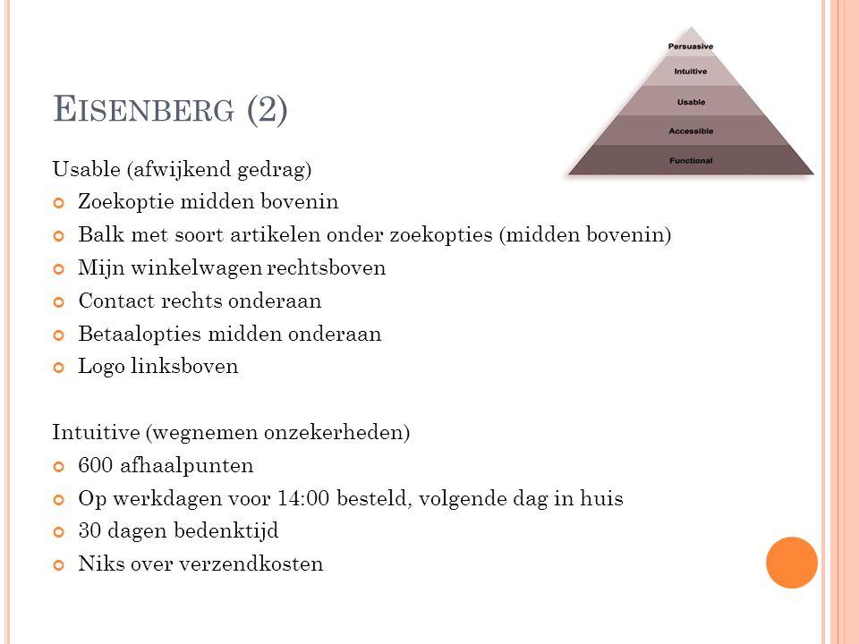 Eisenberg (2) Usable (afwijkend gedrag) Zoekoptie midden bovenin