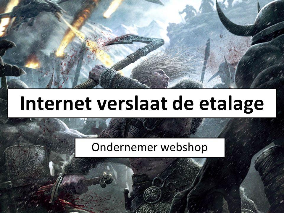Internet verslaat de etalage