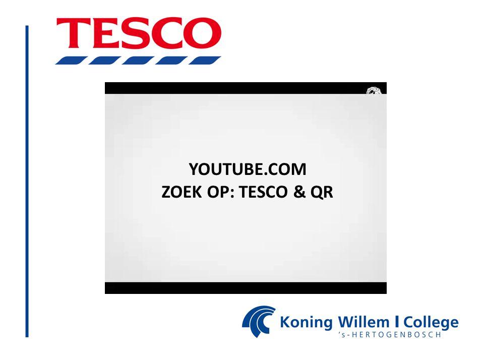 YOUTUBE.COM ZOEK OP: TESCO & QR