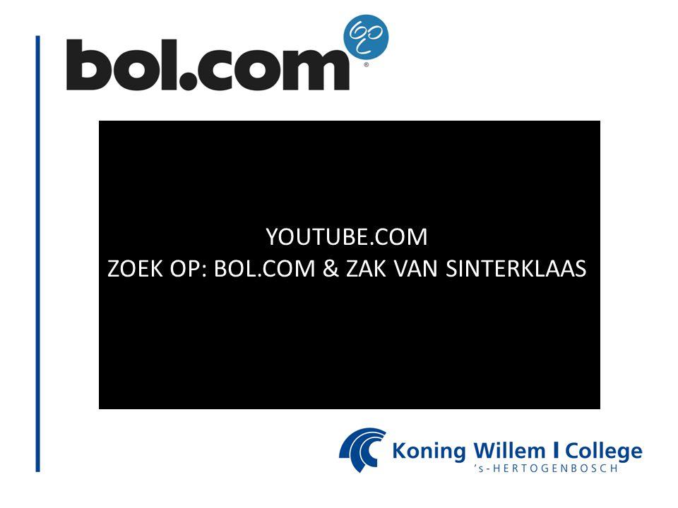 ZOEK OP: BOL.COM & ZAK VAN SINTERKLAAS