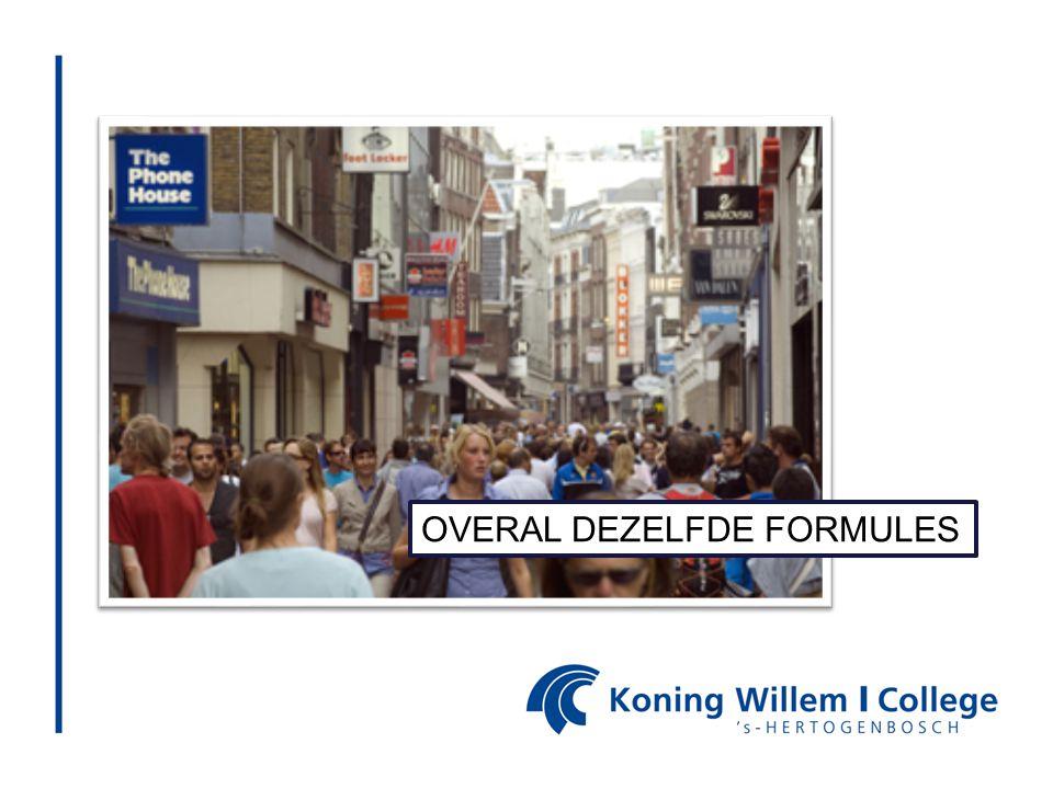 OVERAL DEZELFDE FORMULES