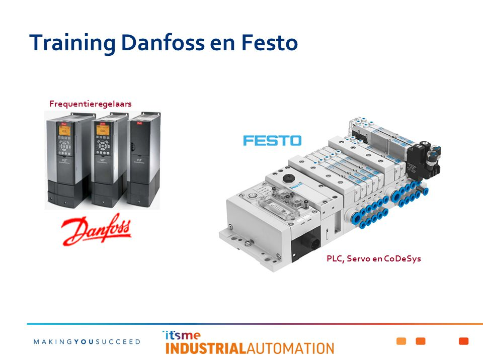 Training Danfoss en Festo