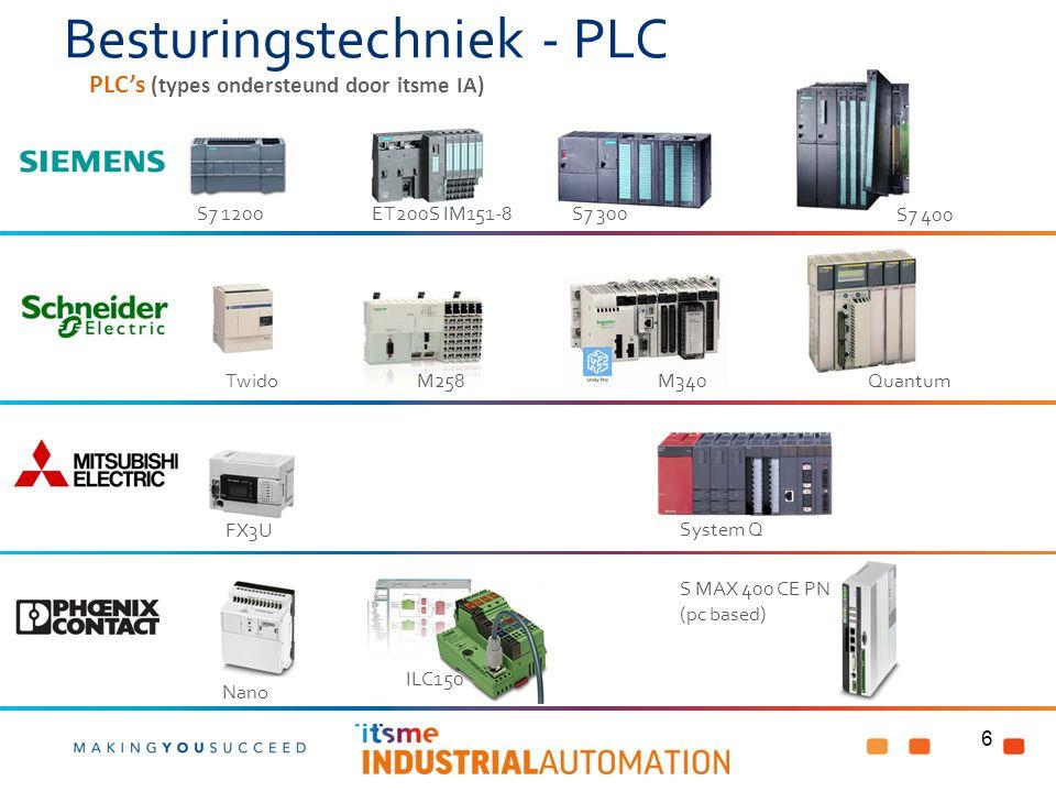 Besturingstechniek - PLC