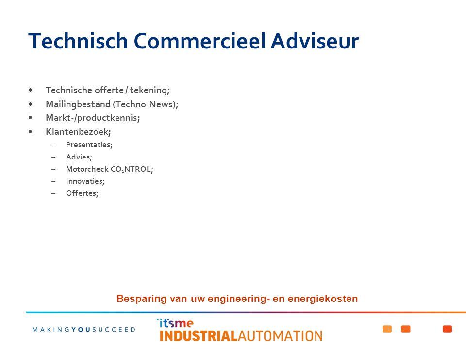 Technisch Commercieel Adviseur