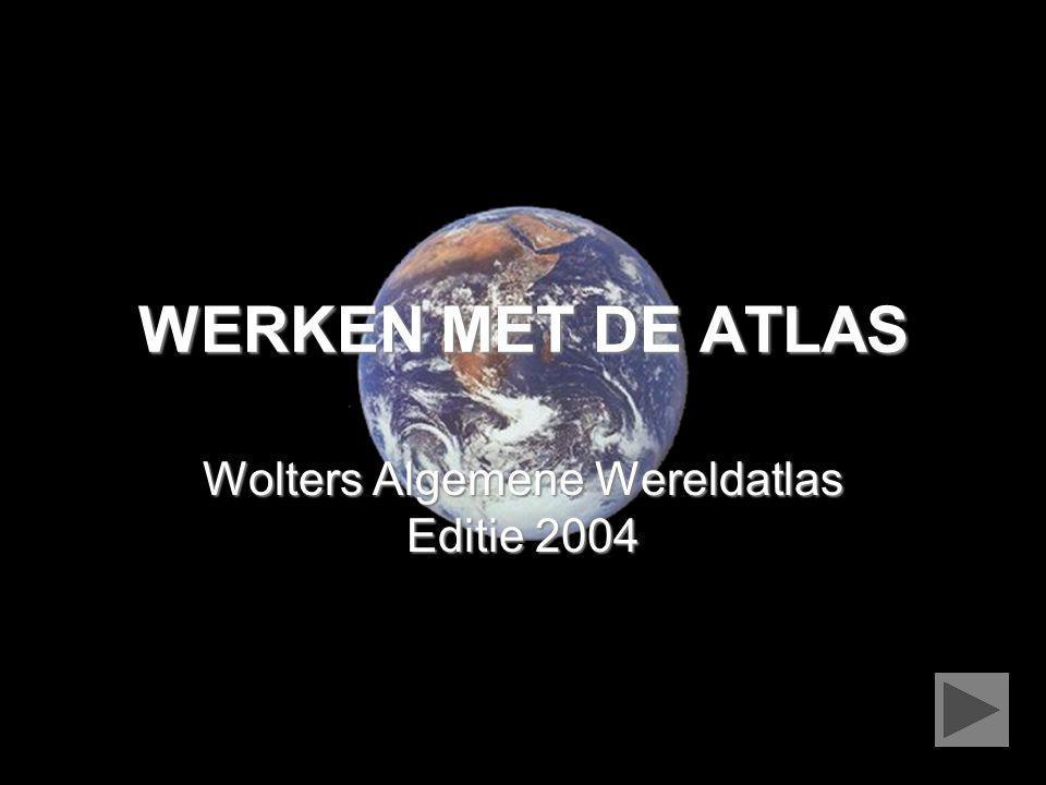 Wolters Algemene Wereldatlas Editie 2004