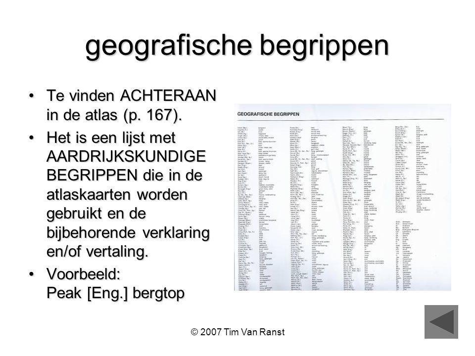 geografische begrippen