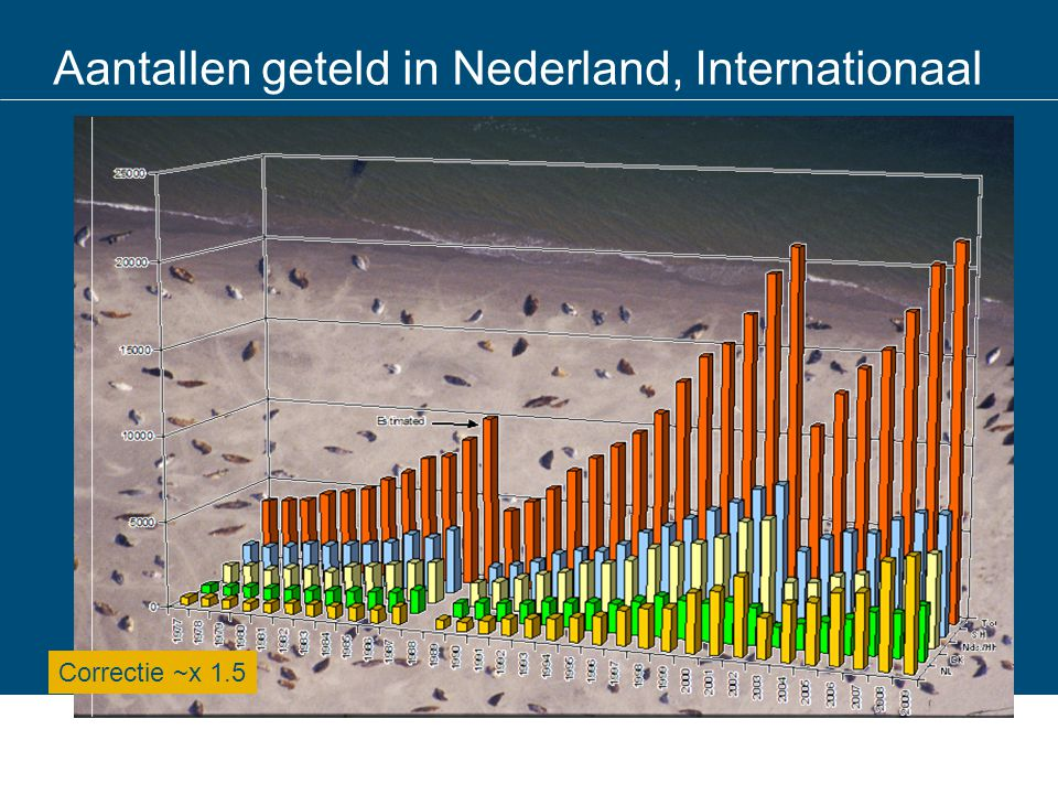 Aantallen geteld in Nederland, Internationaal