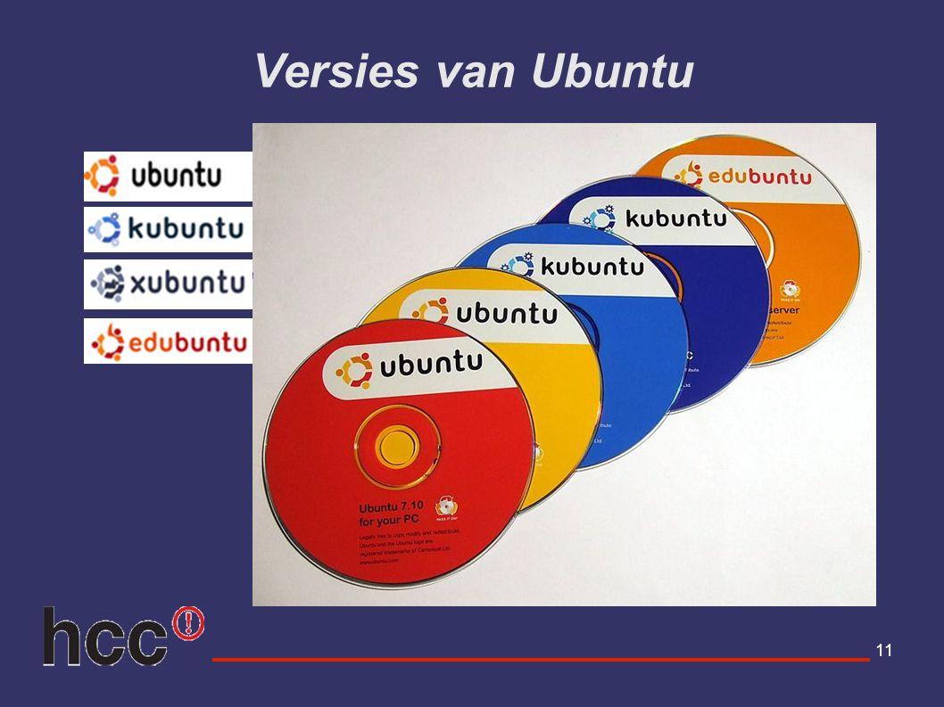 Versies van Ubuntu