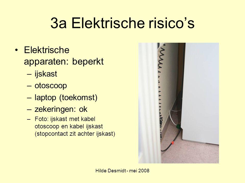 3a Elektrische risico's