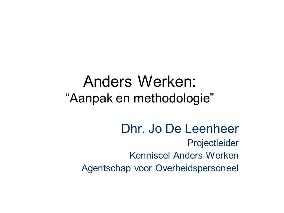 Anders Werken: Aanpak en methodologie