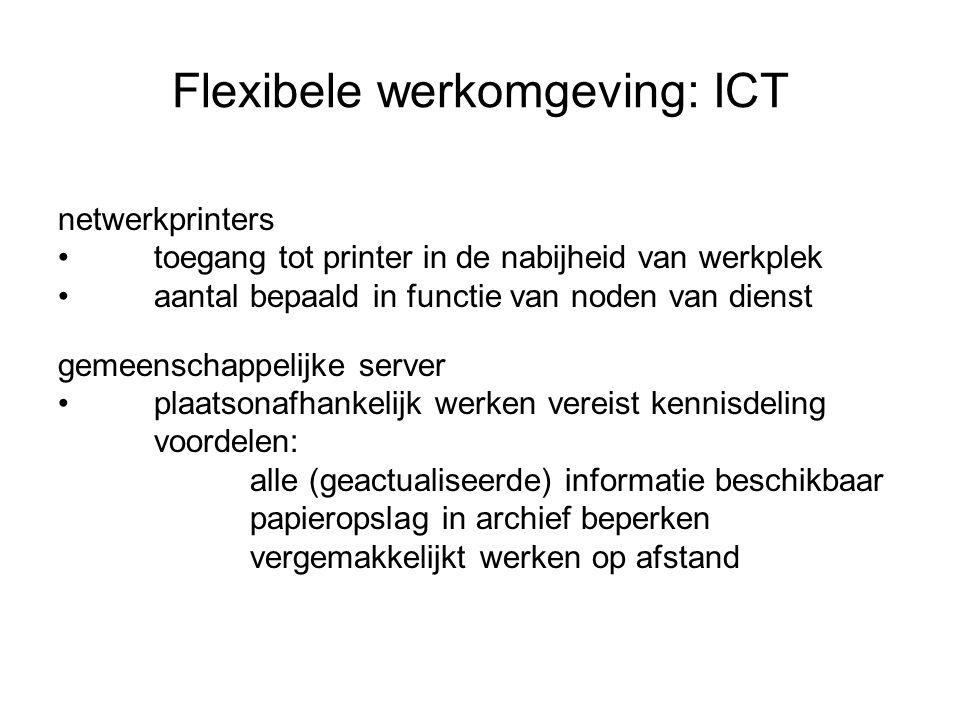 Flexibele werkomgeving: ICT
