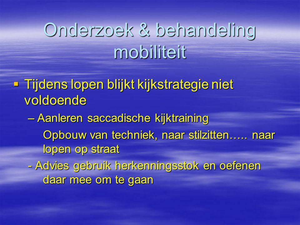 Onderzoek & behandeling mobiliteit