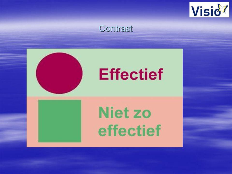 Contrast <Typ titel via Beeld, Koptekst en voettekst, Koptekst>
