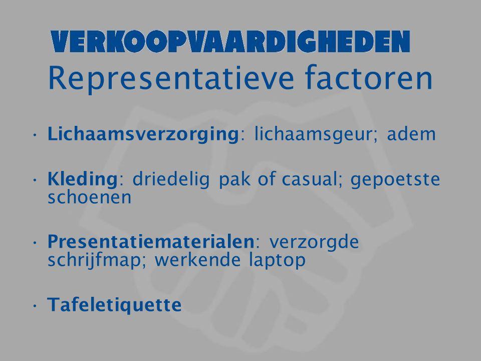 Representatieve factoren