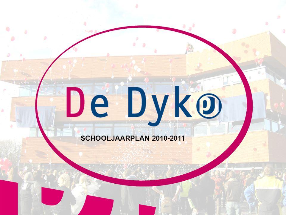 SCHOOLJAARPLAN 2010-2011 1