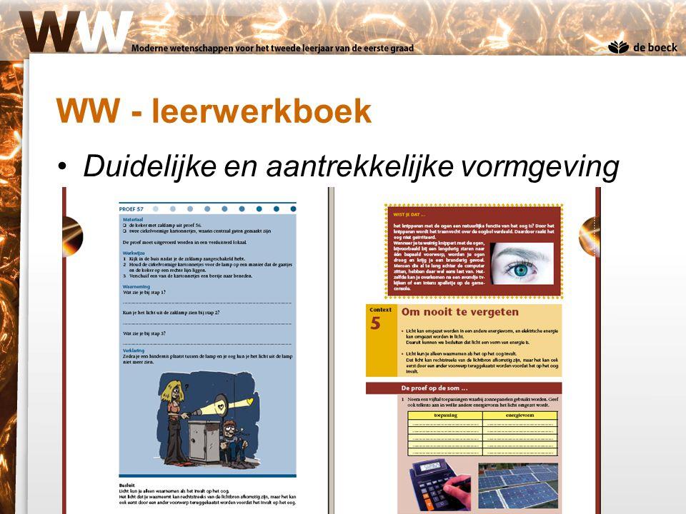 WW - leerwerkboek Duidelijke en aantrekkelijke vormgeving