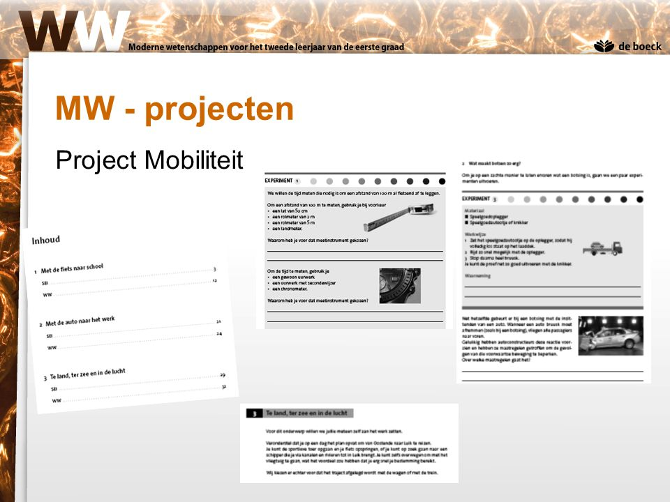 MW - projecten Project Mobiliteit