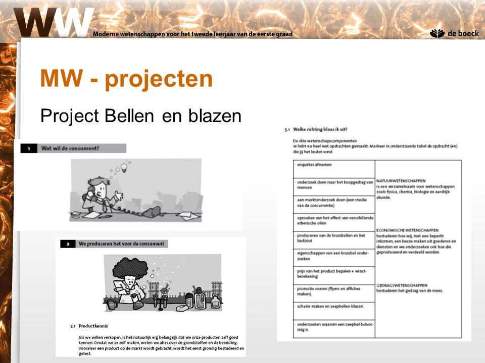 MW - projecten Project Bellen en blazen