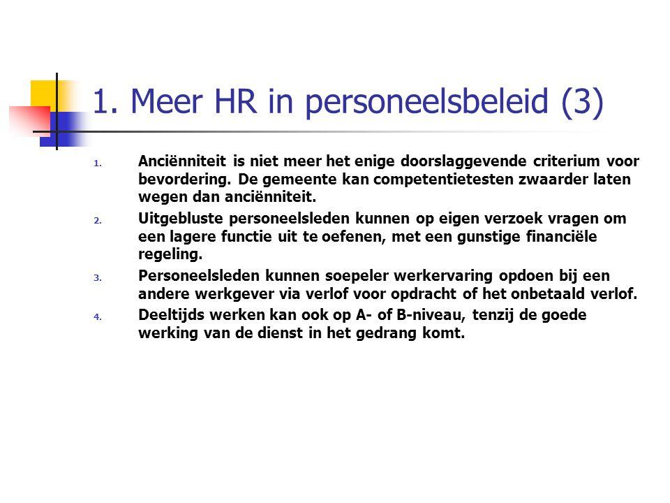 1. Meer HR in personeelsbeleid (3)