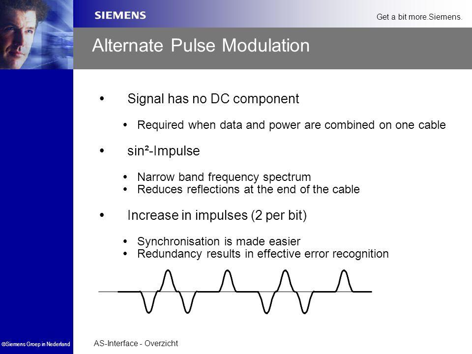 Alternate Pulse Modulation