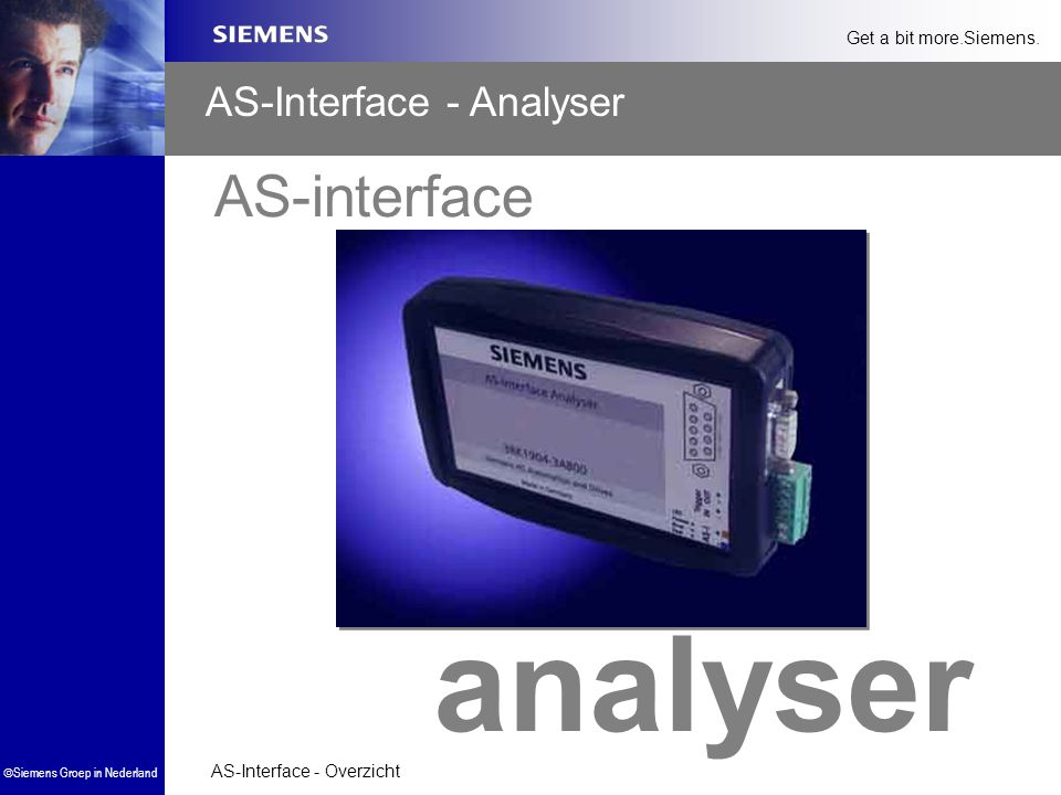 AS-Interface - Analyser