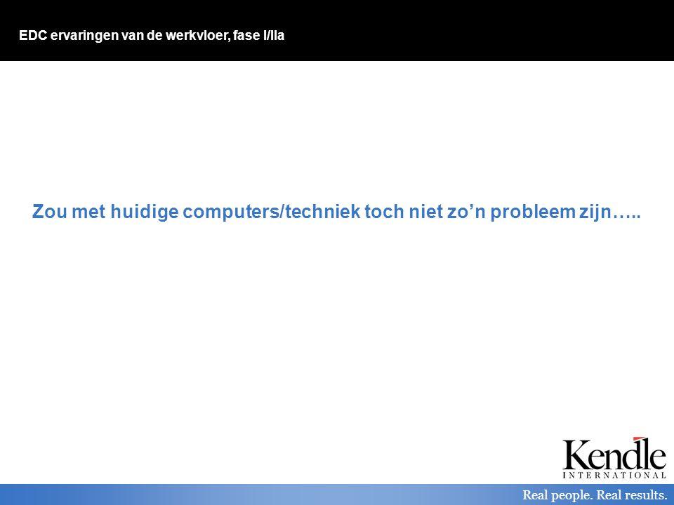 Zou met huidige computers/techniek toch niet zo'n probleem zijn…..