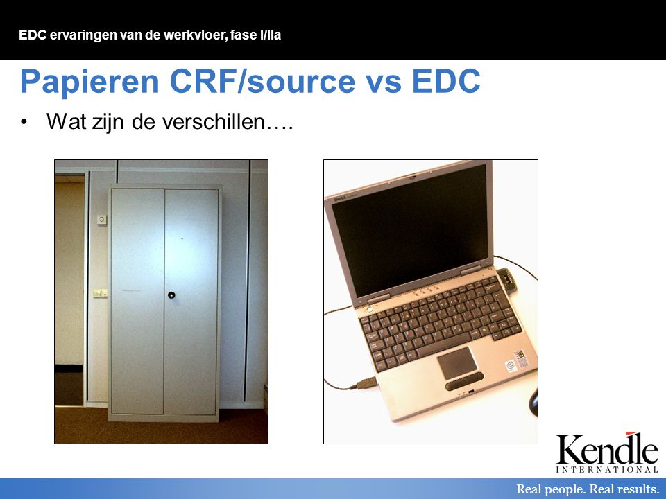 Papieren CRF/source vs EDC