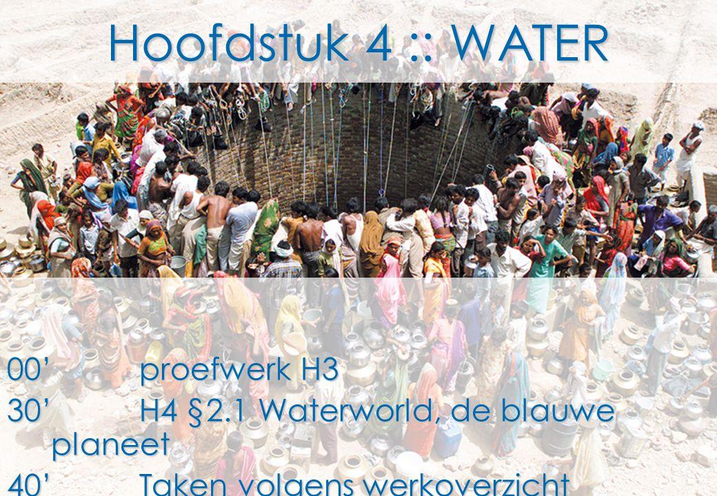 Hoofdstuk 4 :: WATER 00' proefwerk H3