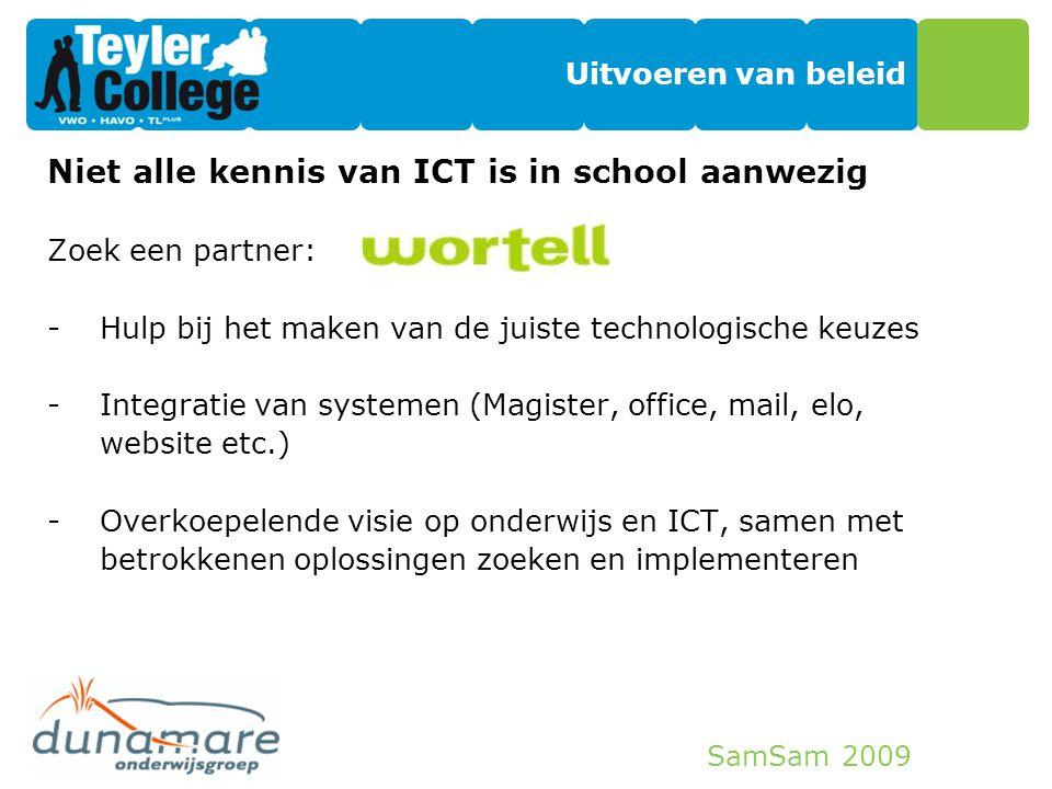 Niet alle kennis van ICT is in school aanwezig