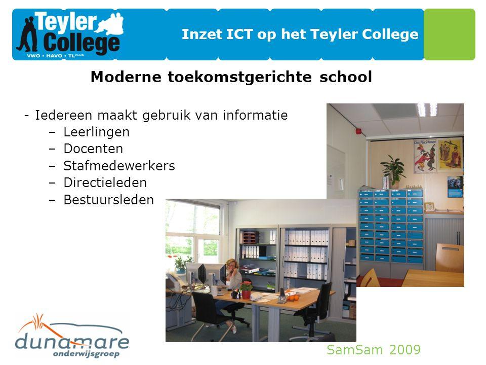 Inzet ICT op het Teyler College