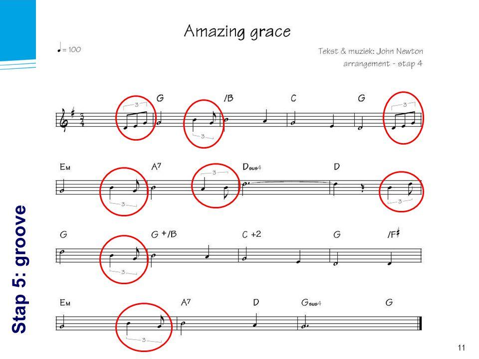 Stap 5: groove Workshop Arrangeren à la Intermezzo - Muziek in de Gemeente